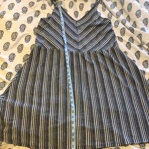Striped universal thread skater dress
